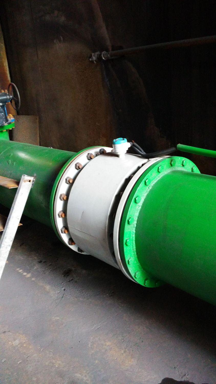 河南林州某铸业企业项目用电磁流量计
